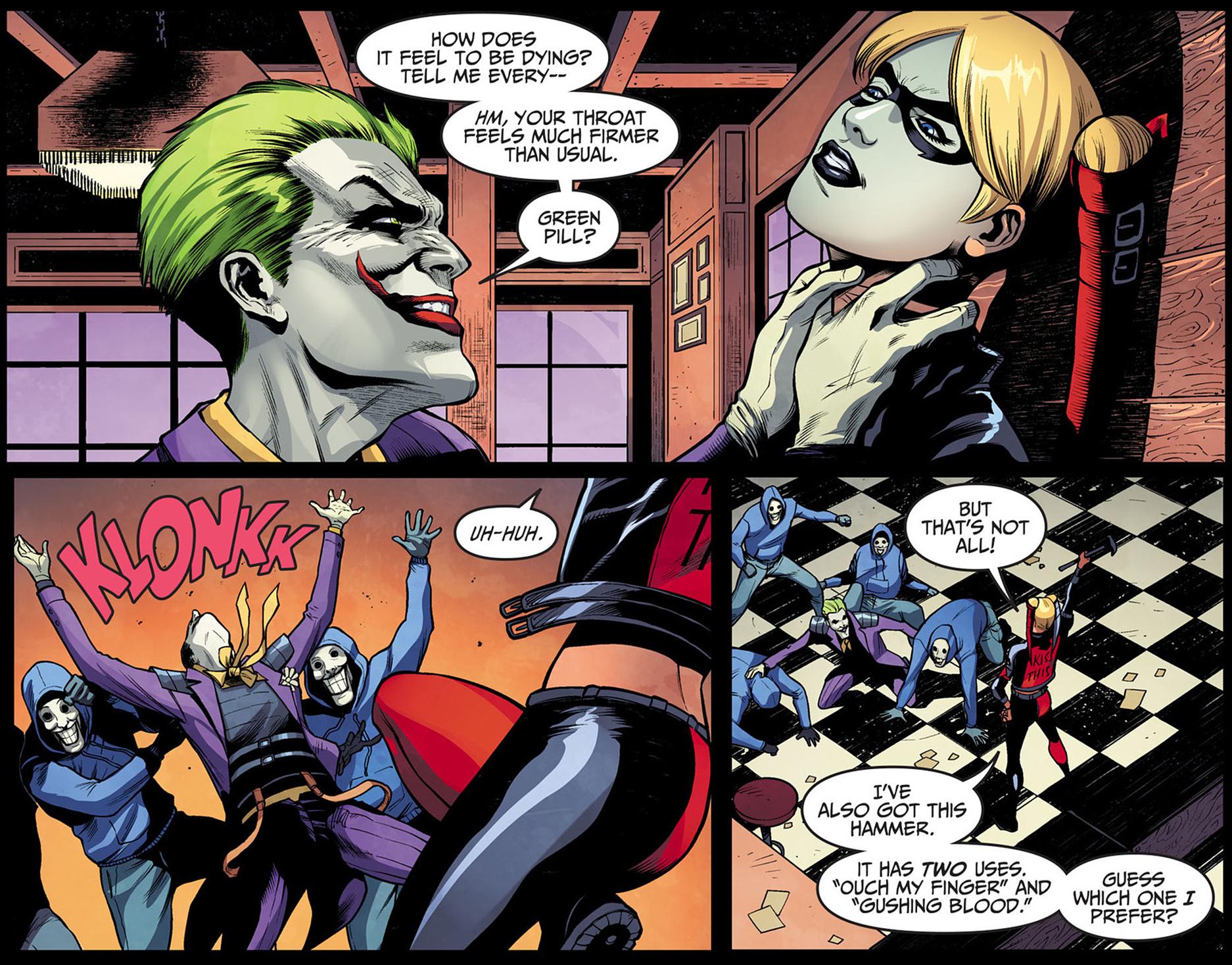 The Joker Vs Harley Quinn Injustice Gods Among