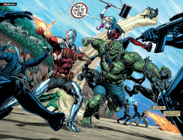 From – Justice League VS Suicide Squad #1