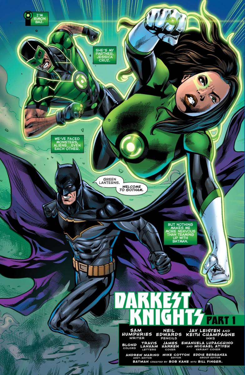 batman green lanterns simon baz and jessica cruz