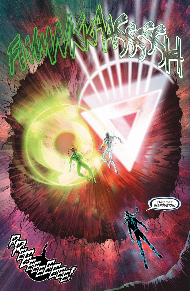 hal-jordan-kyle-rayner-and-saint-walker-vs-the-misery-mound