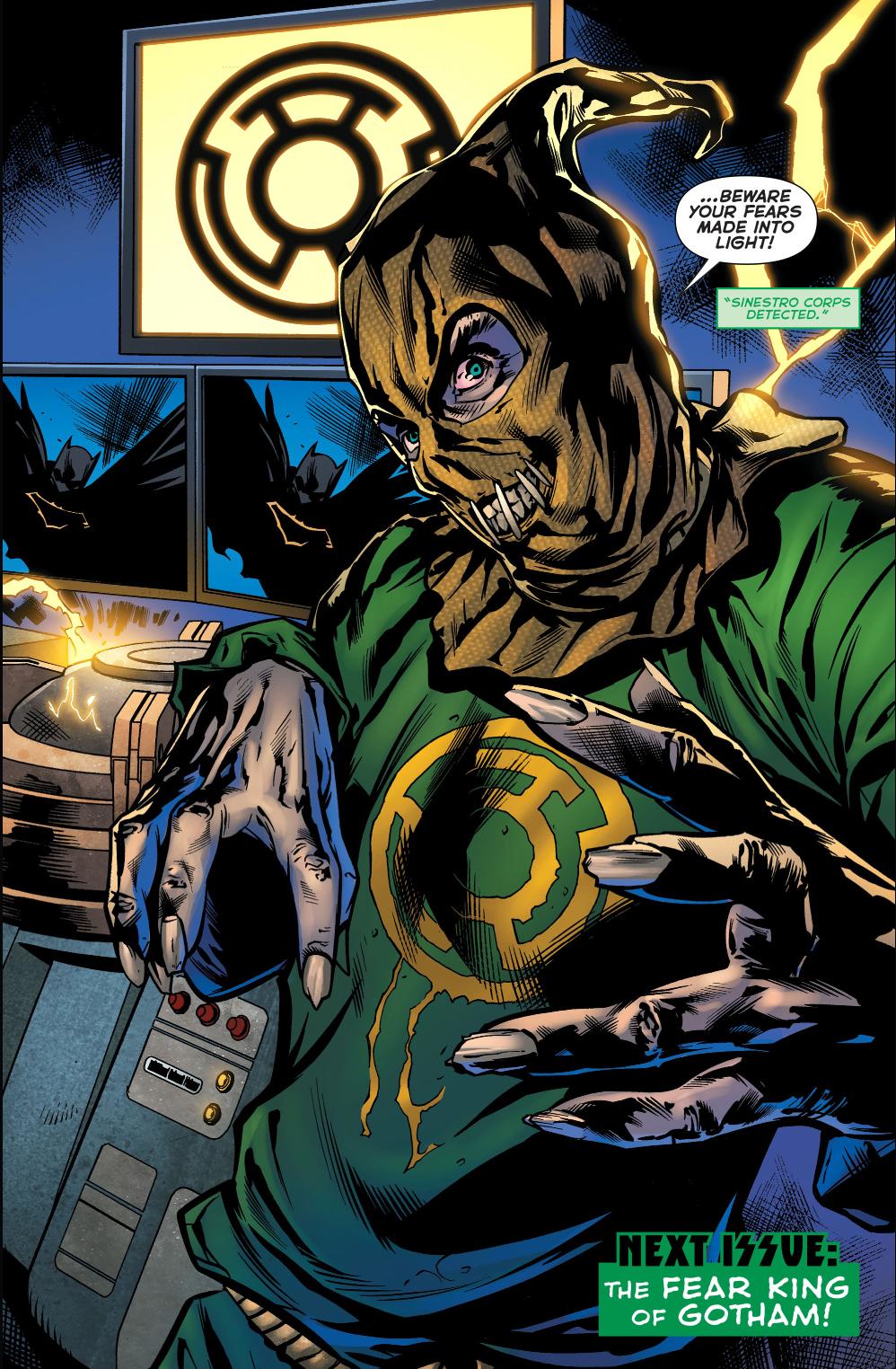 Sinestro Ring Superman Rebirth Comics