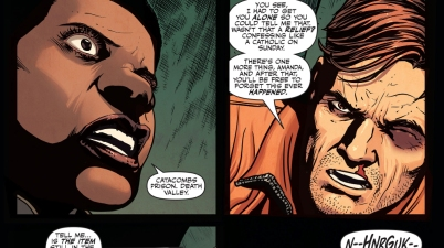 Maxwell Lord Mind Controls Amanda Waller