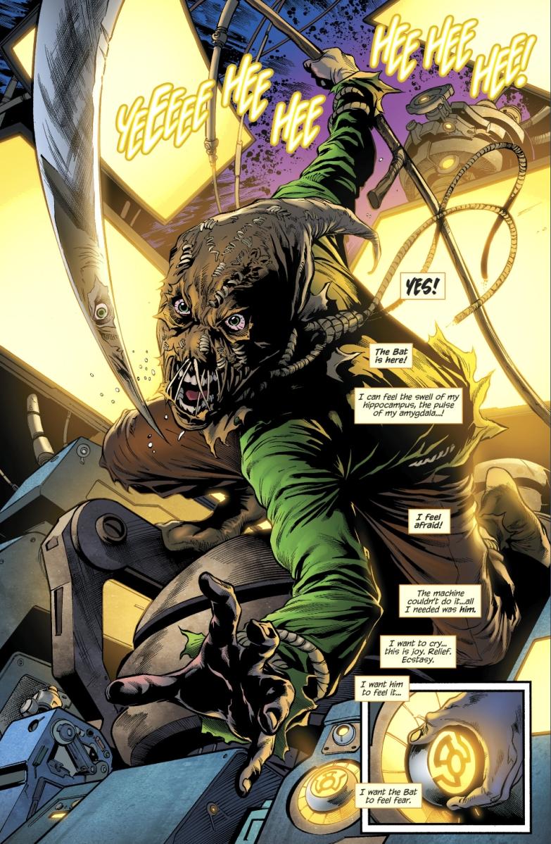 Sinestro Corps Scarecrow Green Lanterns Vol 1 17