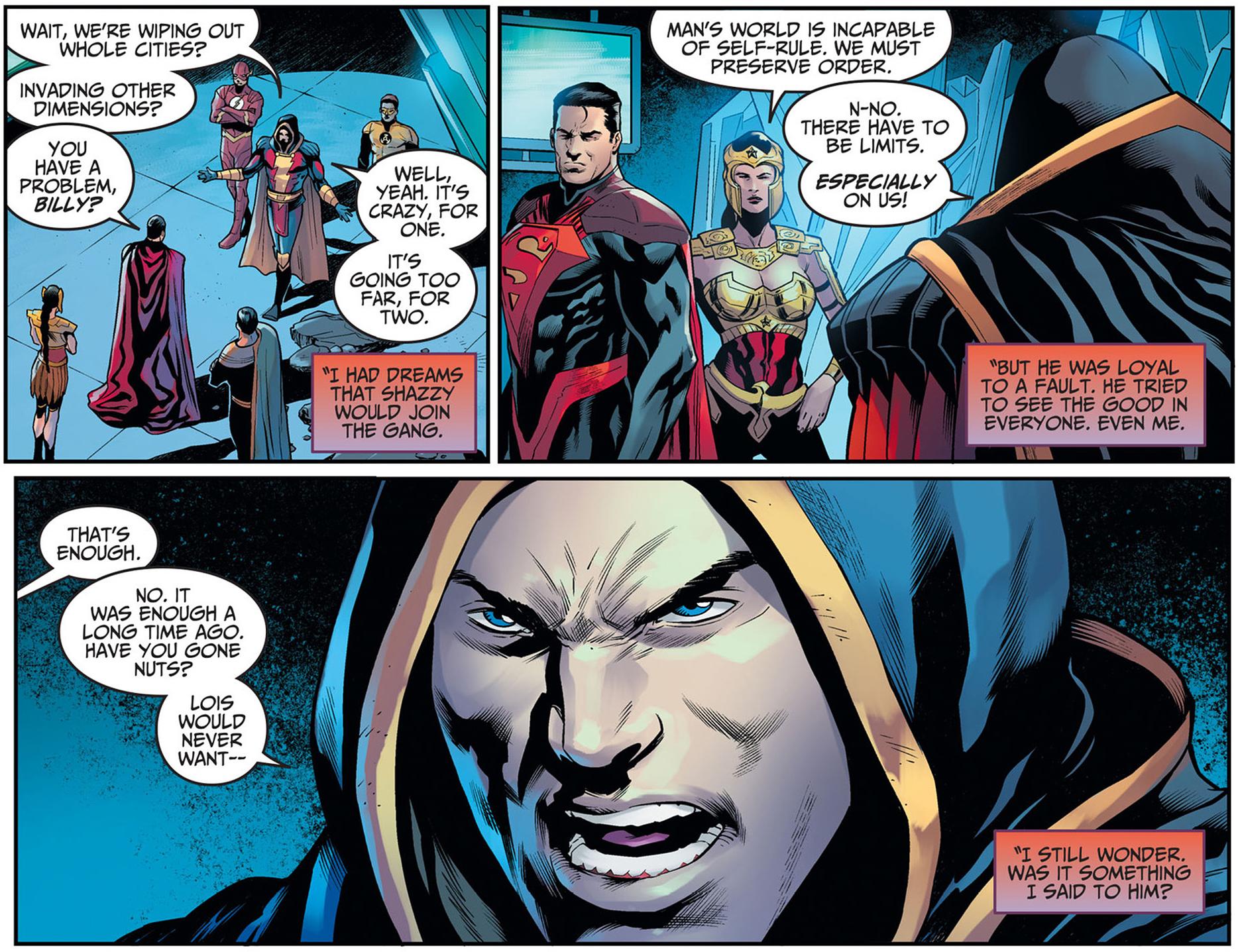 Superman Kills Shazam Injustice Gods Among Us
