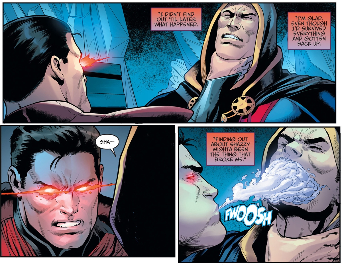 Superman Kills Shazam (Injustice Gods Among Us)