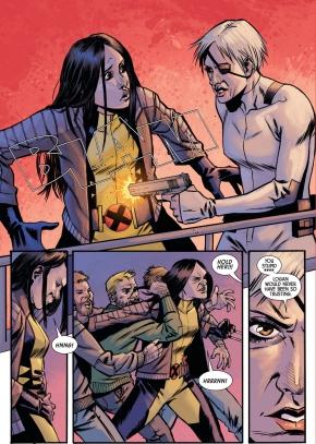 All New Wolverine VS Captain Ash