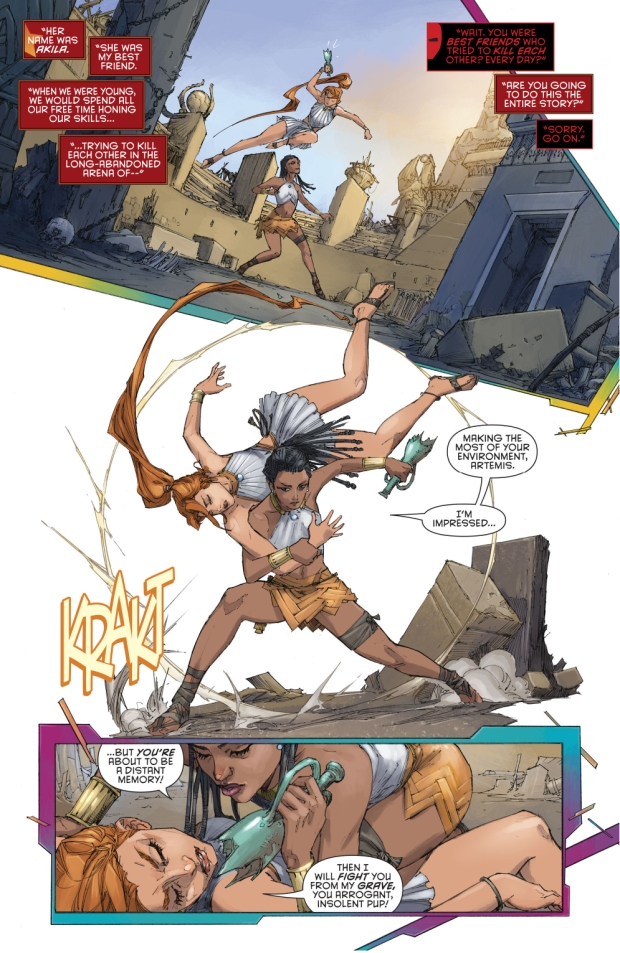 Artemis' History (Rebirth)