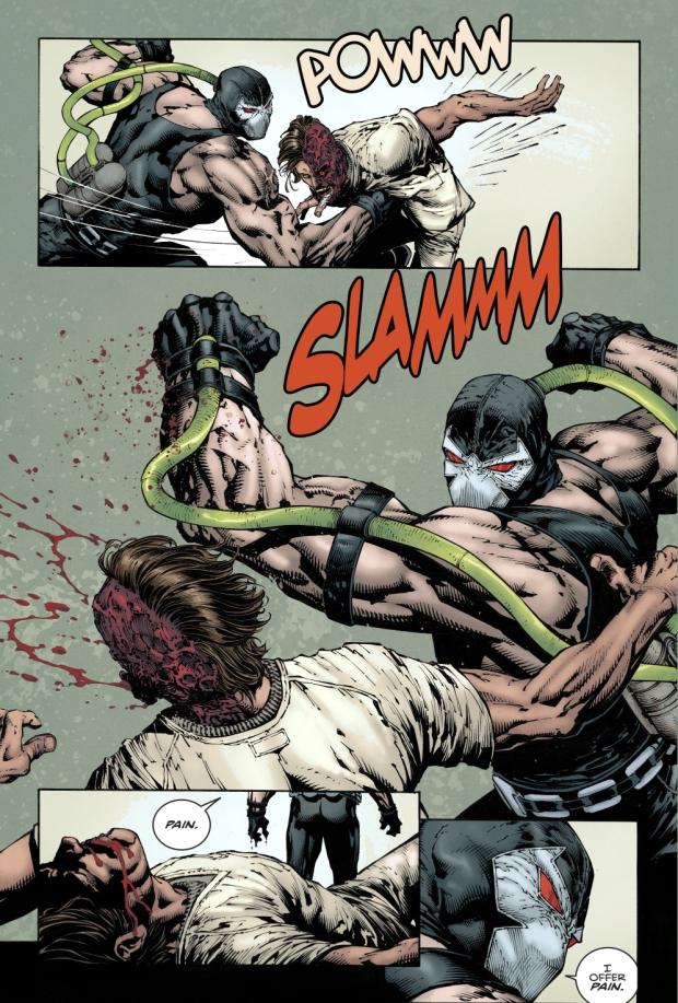 Bane Takes Down Two-Face (Rebirth)