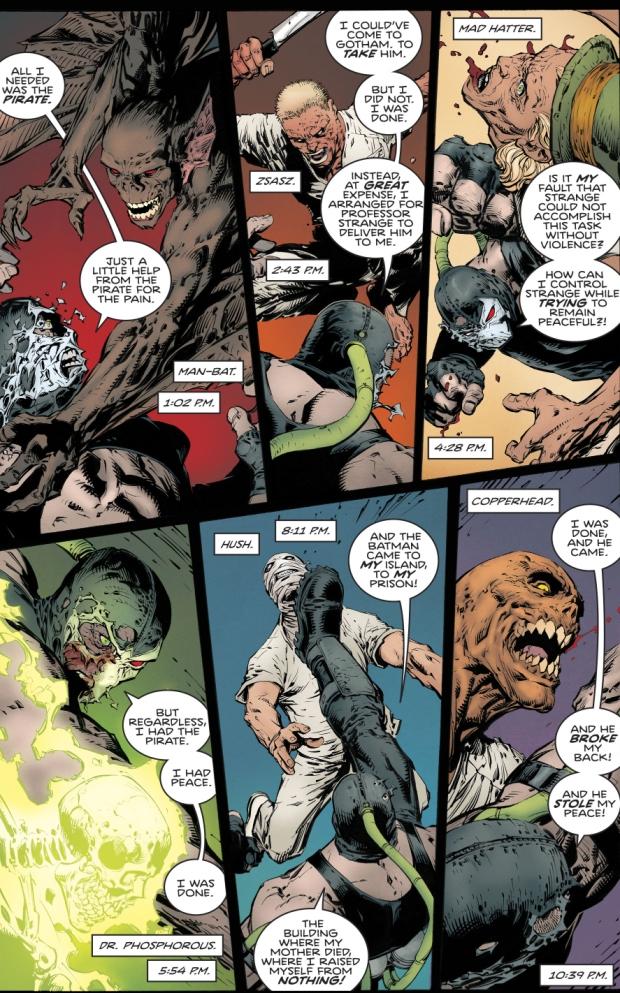 Bane VS Arkham Asylum Inmates (Rebirth)