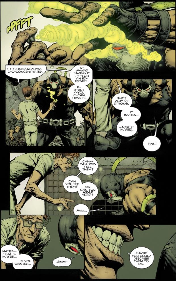 Bane Vs The Scarecrow (Rebirth)