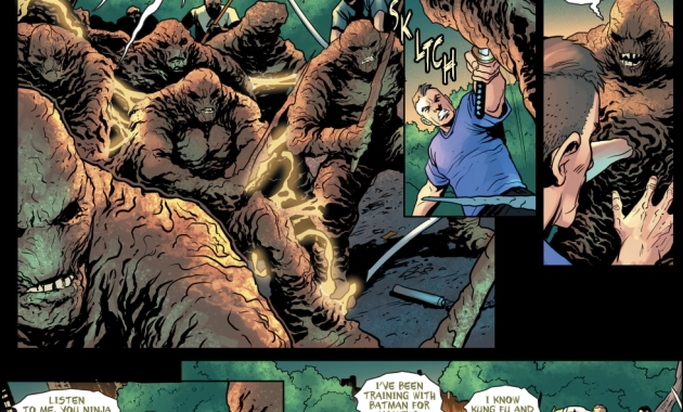 Clayface Is A Lethal One Man Army