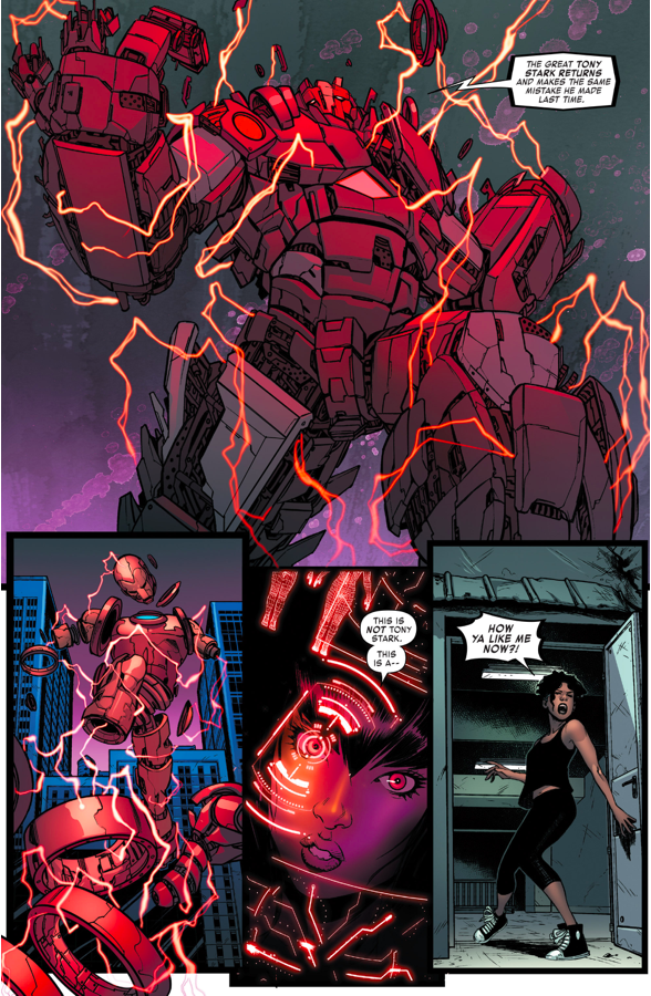 How Ironheart Defeated The Techno Golem