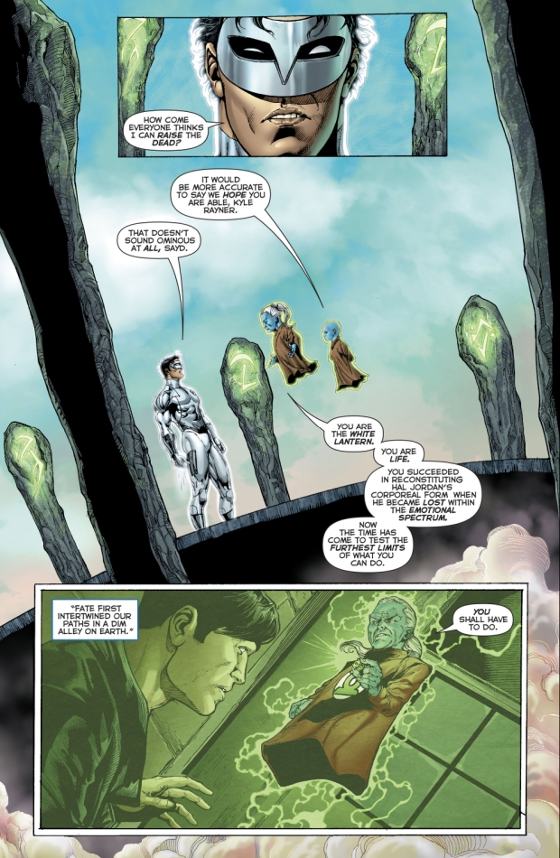 How Kyle Rayner Lost The White Ring