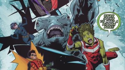 King Shark Attacks The Teen Titans (Rebirth)
