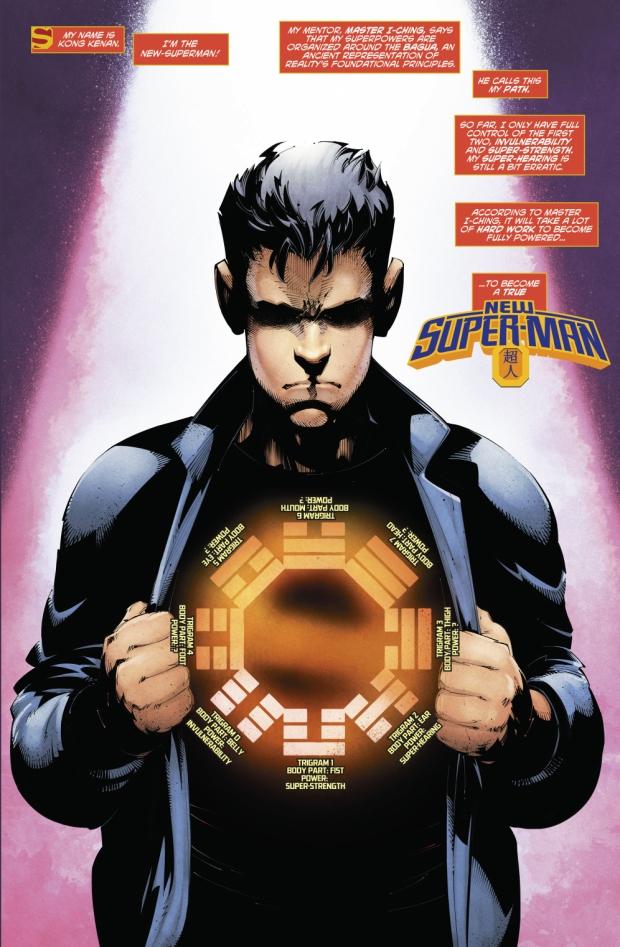 Kong Kenan (New Super-Man #9)
