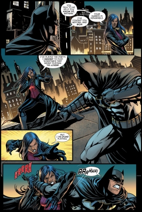 Lady Shiva Beats Batman (Rebirth)