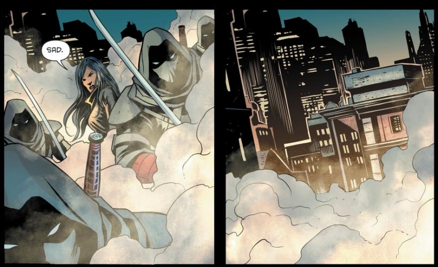 Lady Shiva Beats Batman (Rebirth)