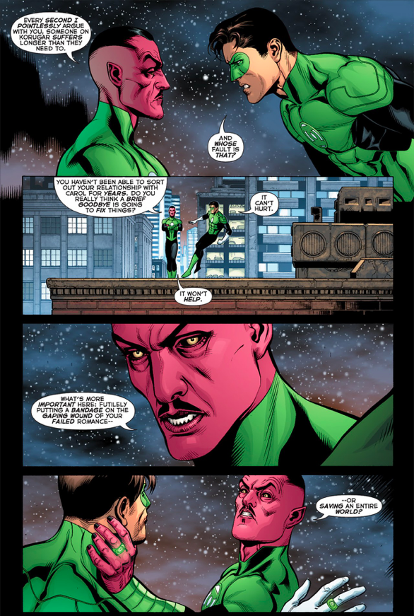 Sinestro Is Better Than Hal Jordan