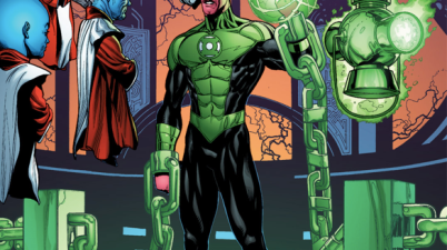 Sinestro Returns As A Green Lantern