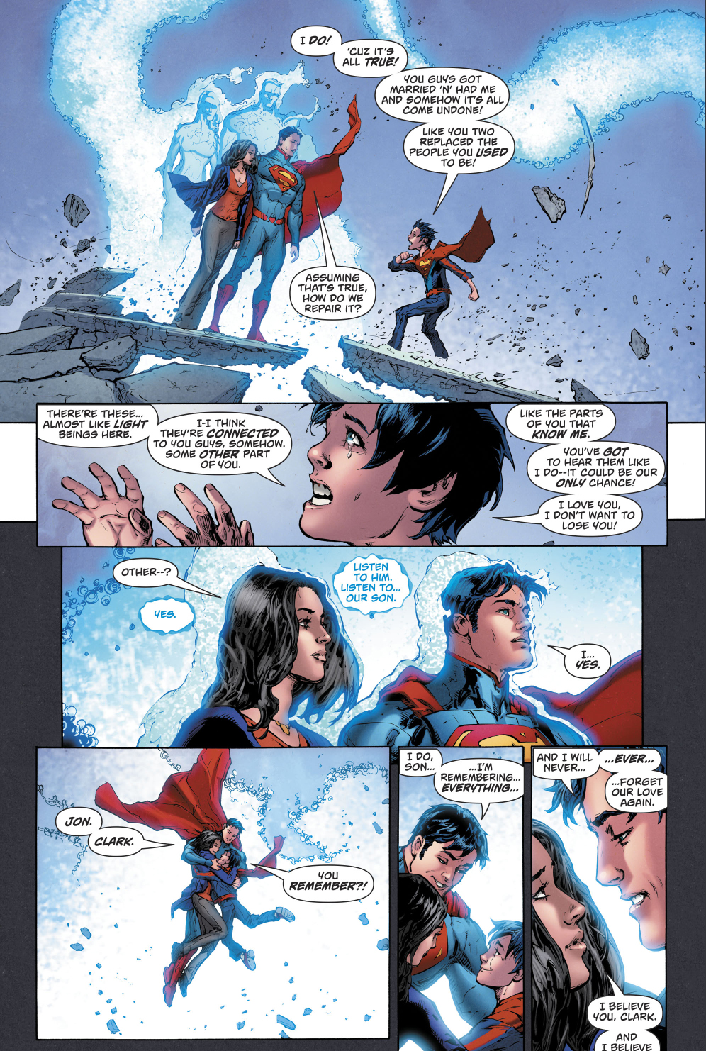 Superman And New 52 Superman Merge Into One   Comicnewbies