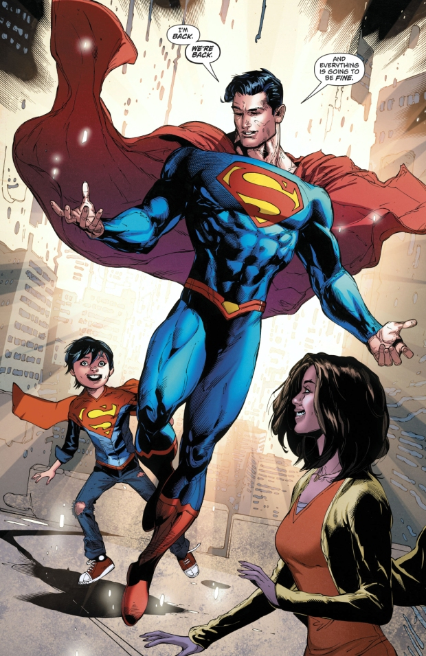 Superman And New 52 Superman Merge Into One
