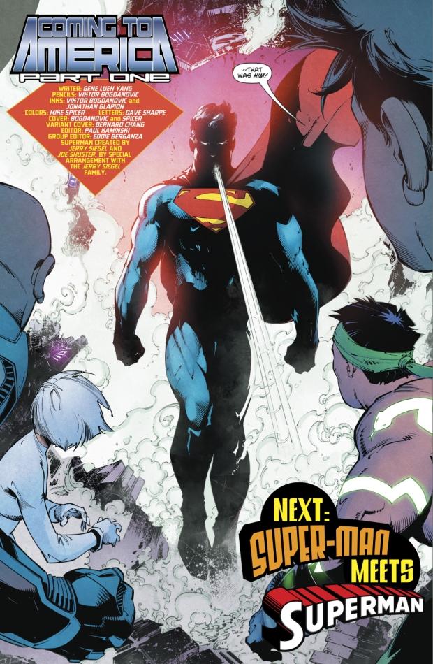 Superman (New Super-Man #9)