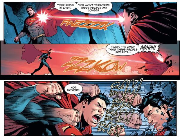 Superman VS Injustice Superman (Injustice Gods Among Us)