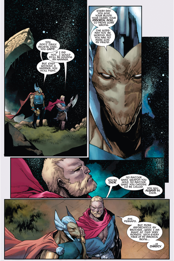 What Made Thor Unworthy