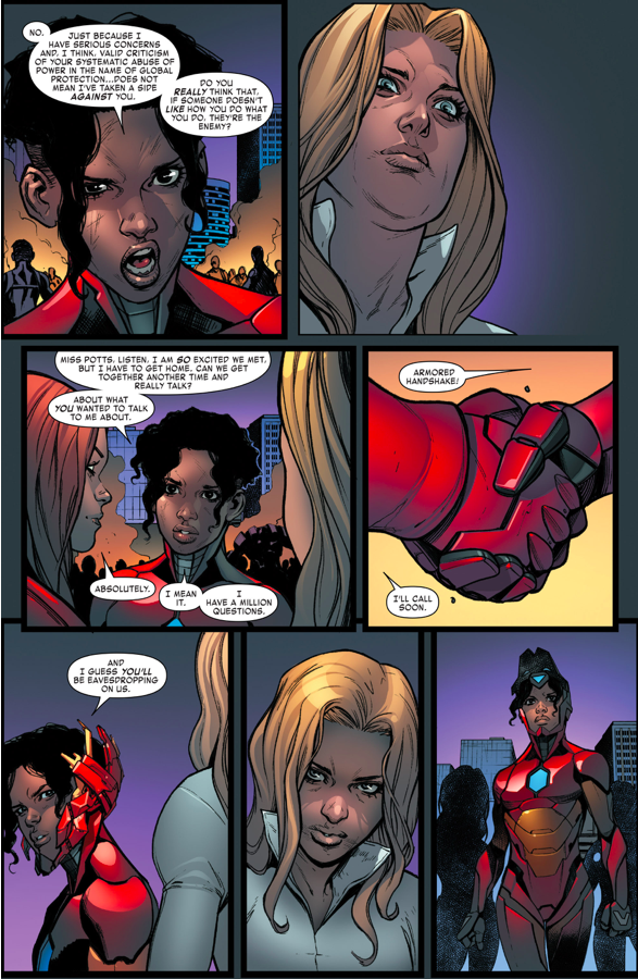 Why Ironheart Did Not Join S.H.I.E.L.D.
