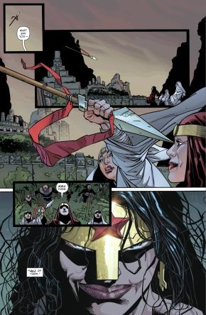 Wonder Woman Declares War On The Kandorians (The Master Race)
