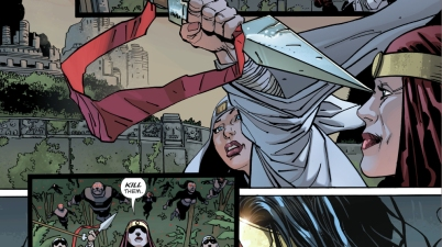 Wonder Woman Declares War On The Kandorians (The Master Race)