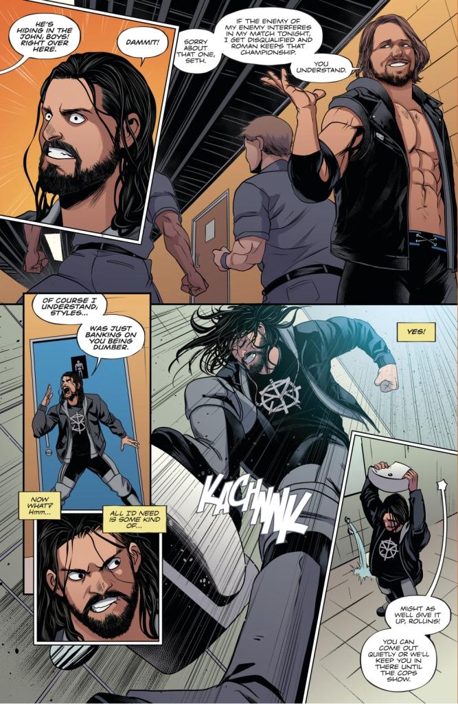 AJ Styles Betrays Seth Rollins