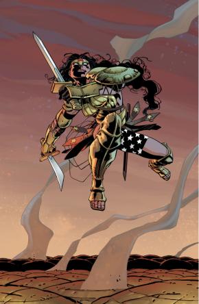 Amazons VS Kandorians (The Master Race)