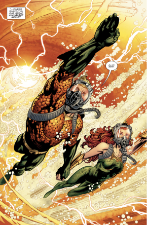 Aquaman And Mera (Aquaman Vol. 8 #21)