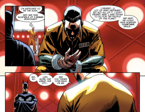 Batman Visits Superman In Prison (Injustice Gods Among Us)