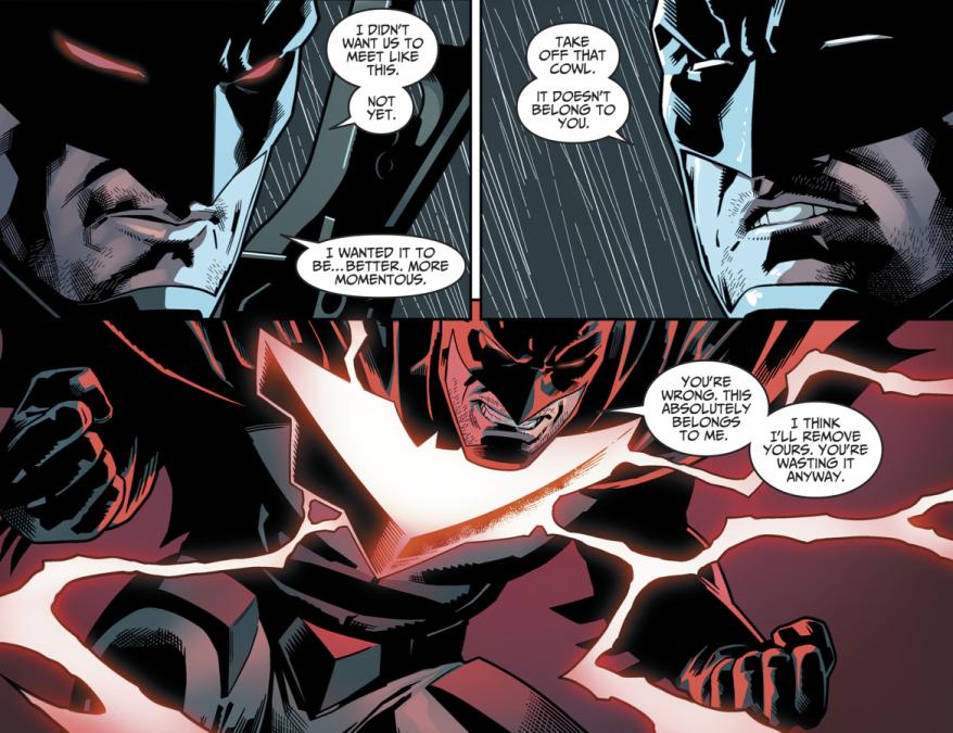 Batman VS Fake Batman (Injustice II)