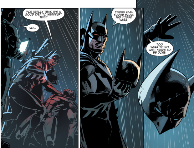 Batman VS Fake Batman (Injustice II)