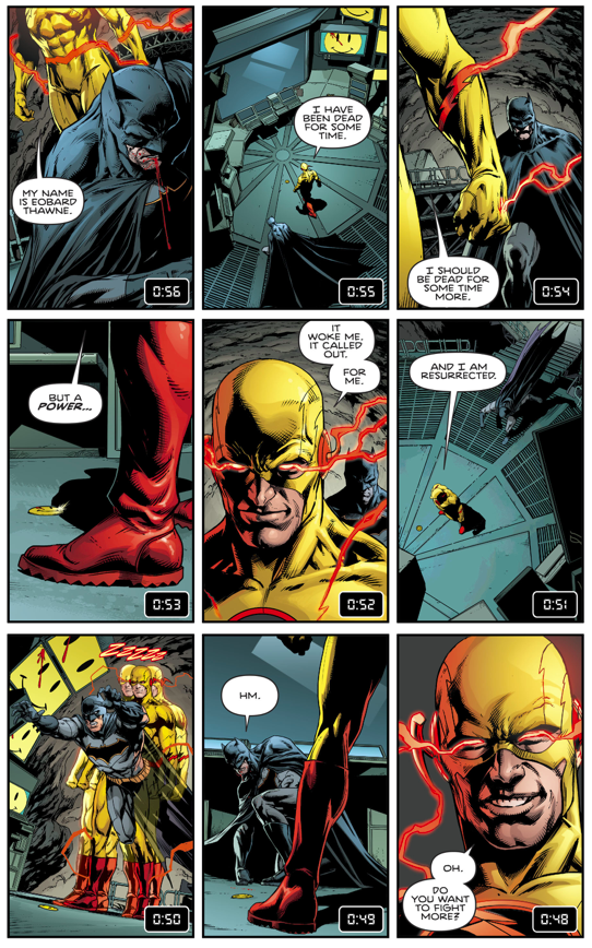 Batman VS Reverse Flash (Rebirth)