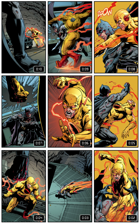 Batman VS Reverse Flash (Rebirth)