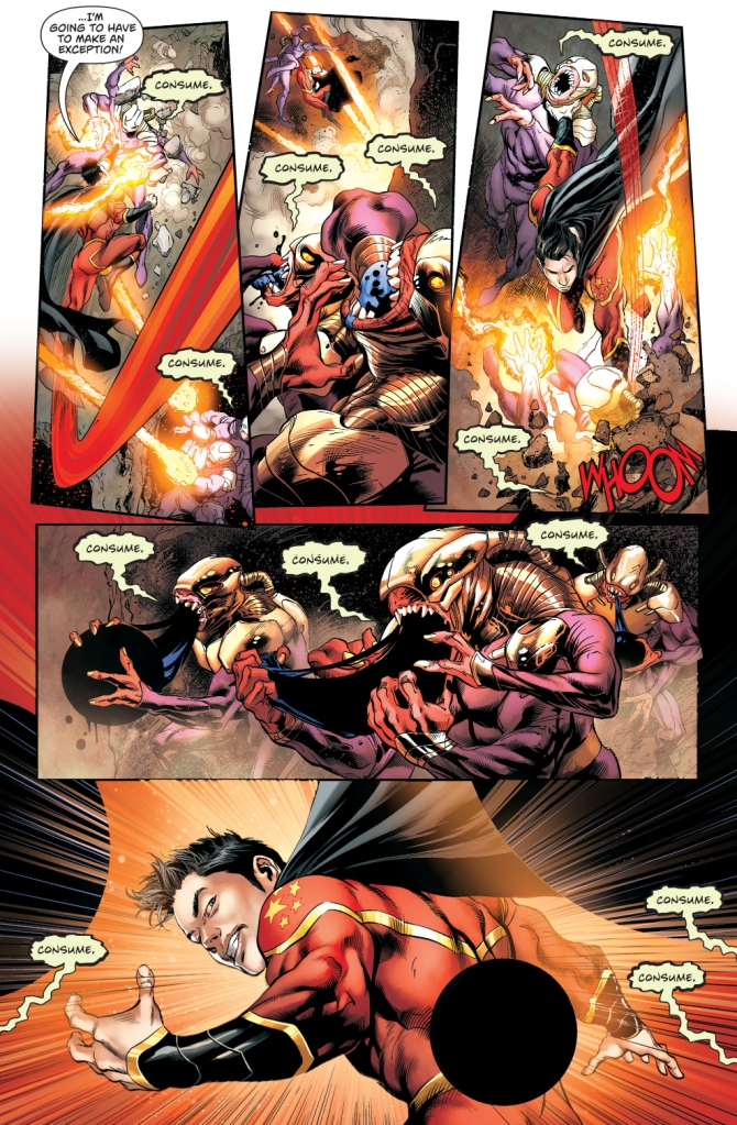 Chinese Superman VS The Gatherers