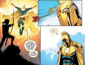 Connor Queen Shoots Doctor Fate (Injustice Gods Among Us II)