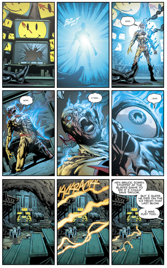 Death Of Reverse Flash (Rebirth)