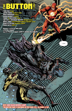 Death Of Reverse Flash (Rebirth)