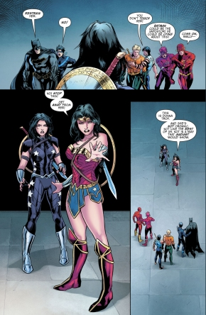 Donna Troy's New Origin Story (Rebirth)