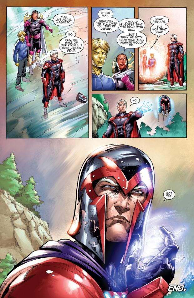 Elixir Heals Magneto From Certain Death