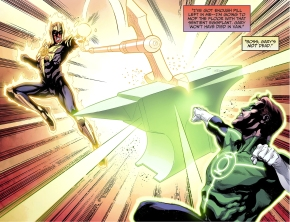 Green Lantern VS Sinestro (Injustice Gods Among Us)