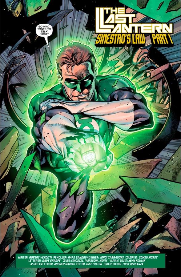 Hal Jordan And The Green Lantern Corps #1
