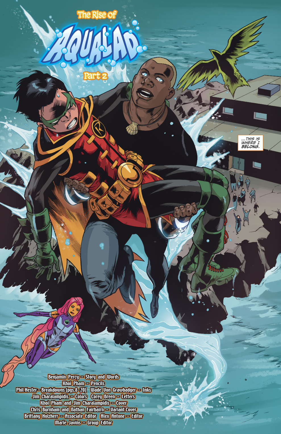 How Aqualad Joined The Teen Titans Rebirth  Comicnewbies-4843