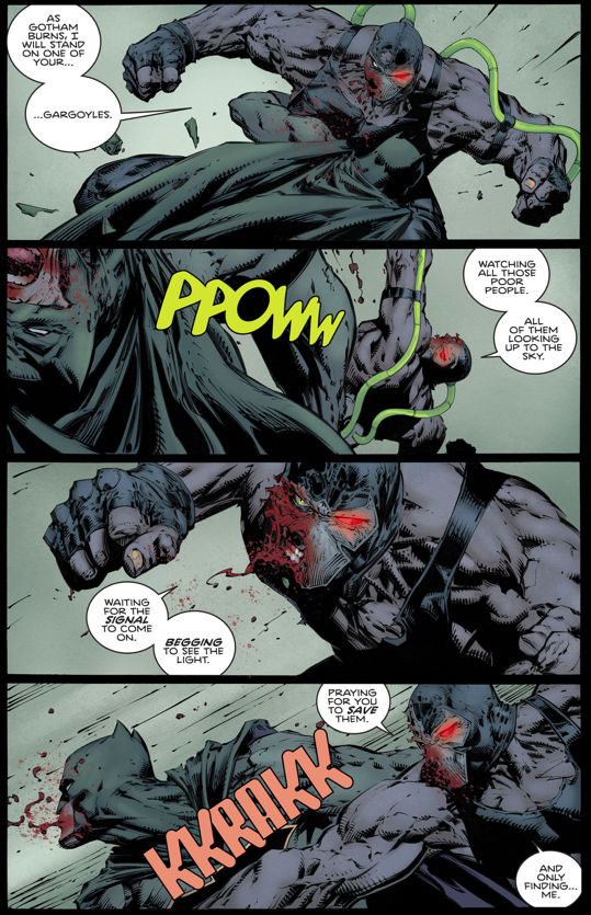how batman defeated bane rebirth comicnewbies