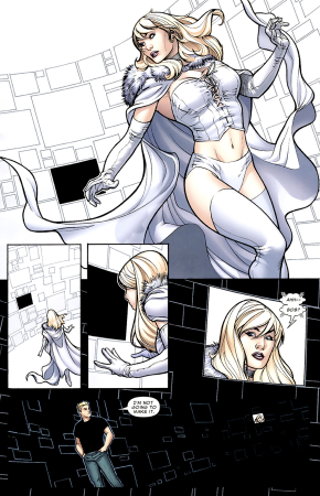 How Emma Frost Took Down The Sentry